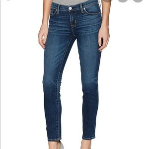 Hudson Tally midrise skinny jeans 27